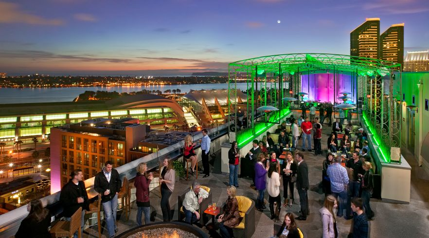Rooftop Bars in San Diego | ALTITUDE Sky Lounge