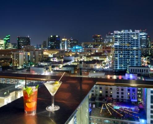 San Diego ALTITUDE Sky Lounge View