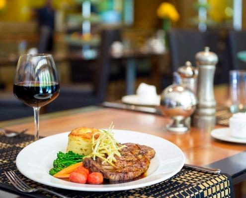 Steak Dinner at Soleil @ K